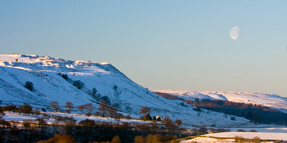 An Image of the Beautiful Helmshore Valley